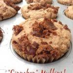 """Cinnabon"" Muffins by Dreena Burton #vegan #nutfree #wholefoods"