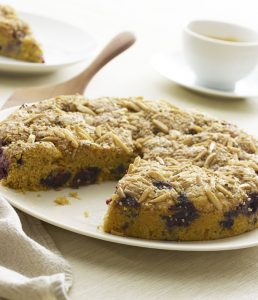 "Blueberry Coffee Cake from ""Super Seeds"" by Kim Lutz"