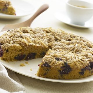 "Blueberry Coffee Cake from ""Super Seeds"" cookbook (+giveaway)"