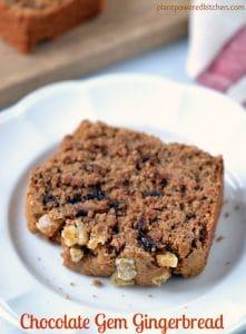 Chocolate Gem Gingerbread #vegan by Dreena Burton