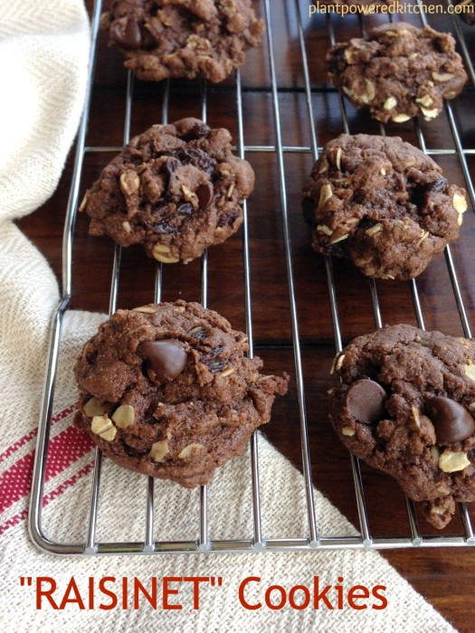 """Raisinet"" Cookies by Dreena Burton #vegan"