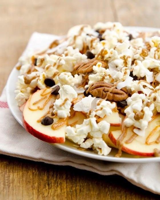 "Apple Nachos Supreme from ""Plant-Powered Families"" by Dreena Burton"