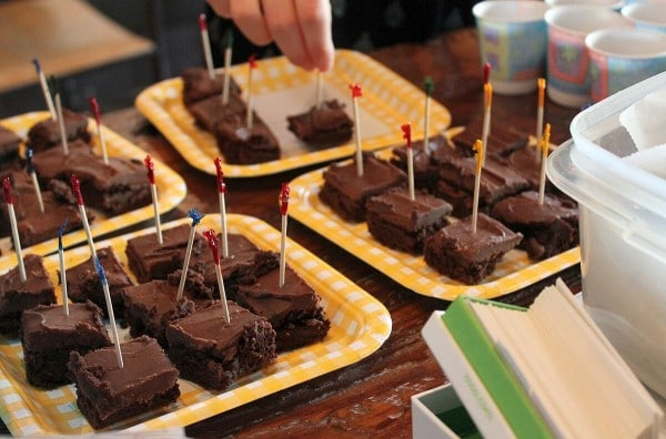 Crazy Brownies from Plant-Powered Families book signing www.plantpoweredkitchen.com