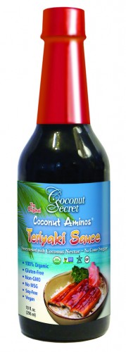 Coconut Secret Teriyaki Sauce #vegan #glutenfree www.plantpoweredkitchen.com