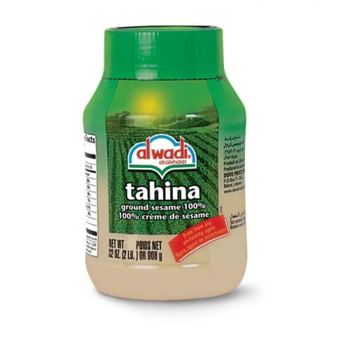 One of my favorite brands of tahini - Al Wadi Tahina #vegan #dairyfree #nutfree www.plantpoweredkitchen.com