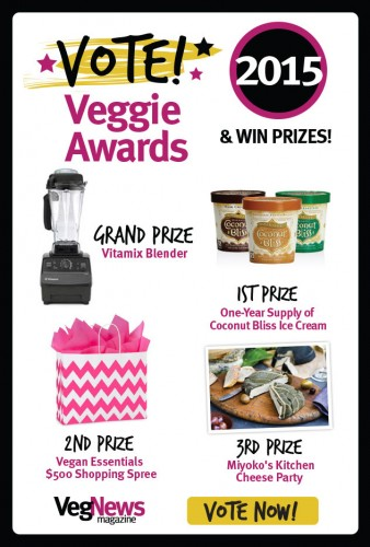 VegNews Veggie Awards - please vote for Plant-Powered Families!