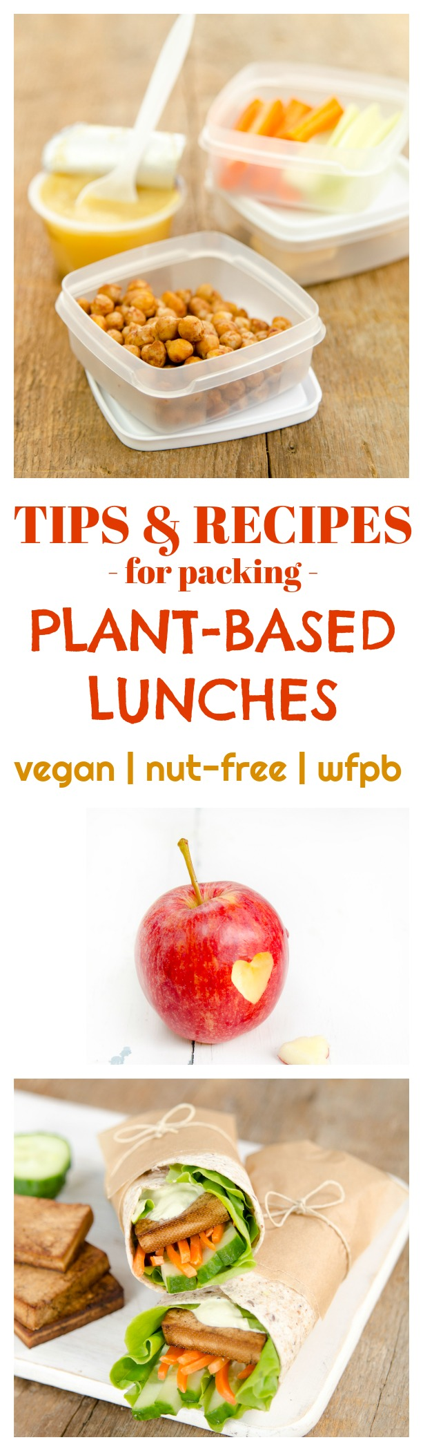Tips & Recipes for packing Plant-Based Lunches | vegan lunch box ideas | how to pack plant-based lunches | plant-based lunch recipes | nut-free lunch recipes | healthy lunch box ideas | packing a healthy lunch || Plant Powered Kitchen