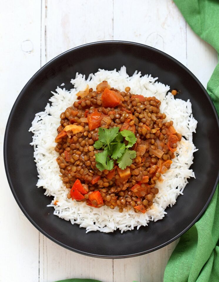 Masala Lentils from Vegan Richa's Indian Kitchen #vegan #dairyfree www.plantpoweredkitchen.com