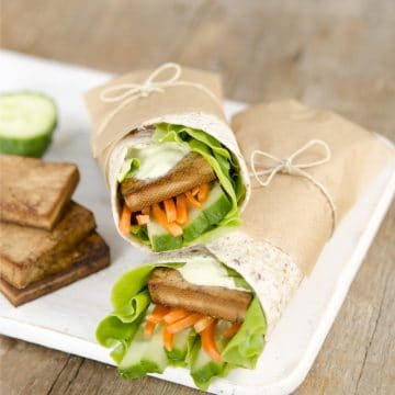 Simplest Marinated Tofu #vegan #glutenfree #nutfree #kids #lunches www.plantpoweredkitchen.com