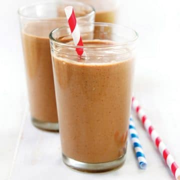 Chunky Monkey Smoothie recipe from Plant-Powered Families #vegan #dairyfree #smoothies #blendtec #wholefoods #plantbased