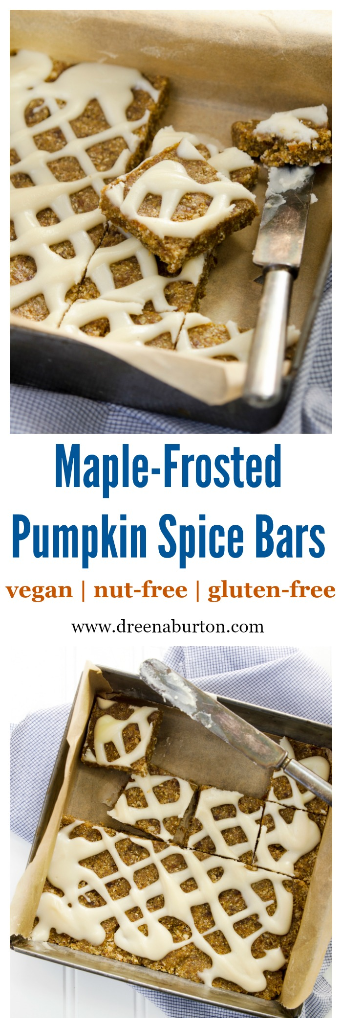 Maple-Frosted Pumpkin Spice Bars
