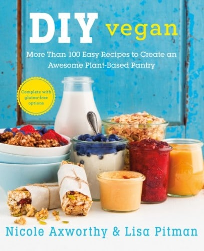 DIY vegan cookbook - #giveaway #vegan