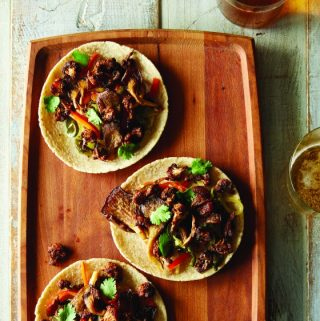 Food52 Vegan: Cauliflower and Oyster Mushroom Tacos