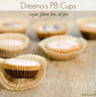 Dreena's vegan peanut butter Cups #vegan #glutenfree #oilfree www.plantpoweredkitchen.com