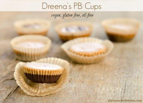 Dreena's PB Cups #vegan #glutenfree #oilfree www.plantpoweredkitchen.com