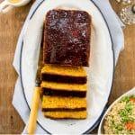 "EASY vegan meatloaf: Autumn Dinner Loaf from ""Plant-Powered Families"" #vegan #glutenfree www.plantpoweredkitchen.com"