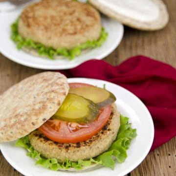 Cauliflower White Bean Burgers from Plant-Powered Families