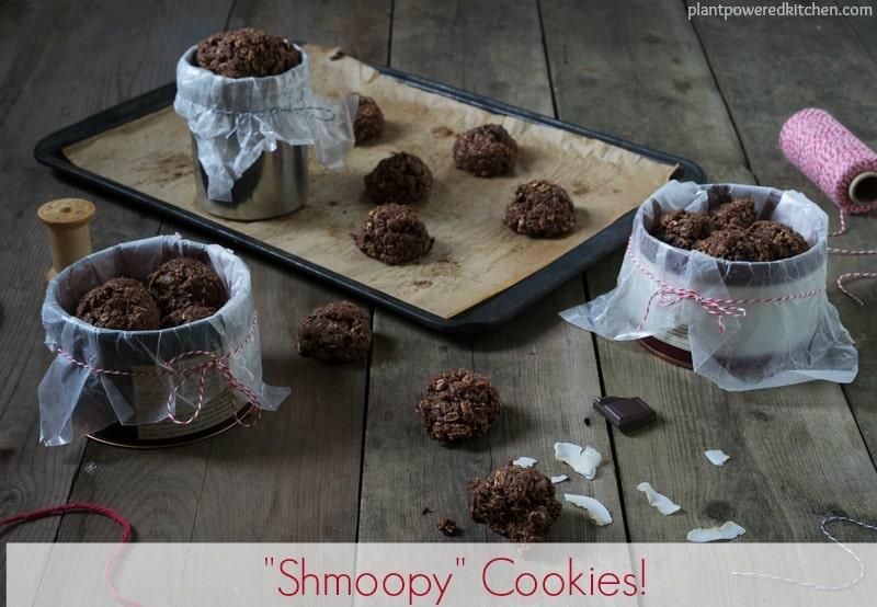 """Shmoopy"" Cookies #vegan #glutenfree #oilfree #wfpb #cookies www.plantpoweredkitchen.com"