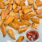Balsamic Yam Fries #vegan #glutenfree #oilfree #nutfree www.plantpoweredkitchen.com