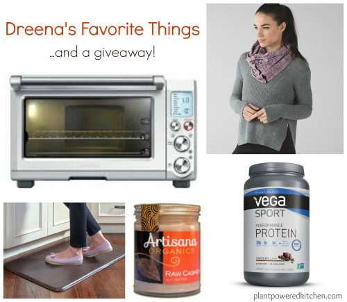 Dreena's Favorite Things + a giveaway! #vegan #plantbased www.plantpoweredkitchen.com