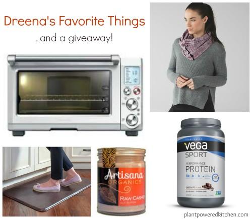 Dreena's Favorite Things + a giveaway! #vegan #plantbased www.plantpoweredkitchen.com