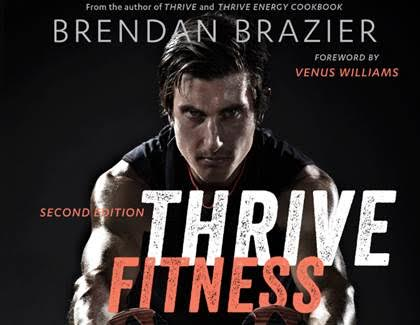 Thrive Fitness, 2nd edition #giveaway www.plantpoweredkitchen.com