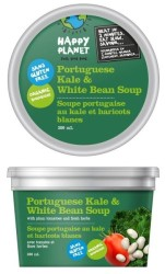 Happy Planet Grab & Go Soup - Portuguese Kale & White Bean Soup