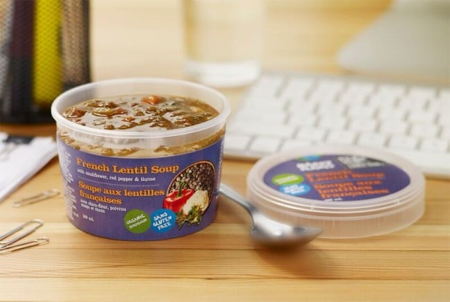 Happy Planet Grab & Go Soups - French Lentil