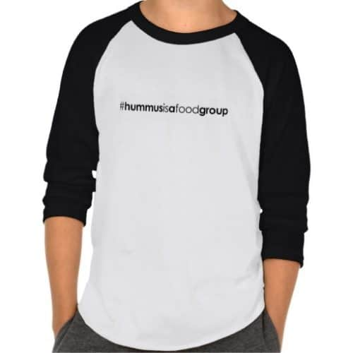 Kids' #hummusisafoodgroup T-shirt #vegan #clothing #tshirt #plantbased www.plantpoweredkitchen.com
