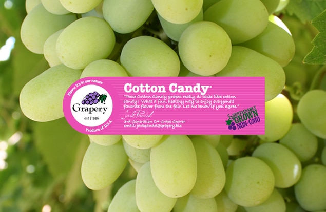 Organic Cotton Candy Grapes - a few of my favorite things! plantpoweredkitchen.com