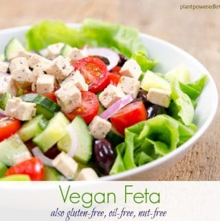 Vegan Feta (that really tastes good)!… also oil-free