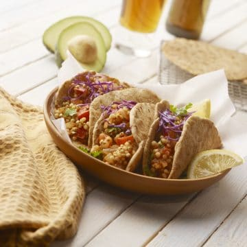 Sorghum Tacos from Ancient Grains cookbook by Kim Lutz