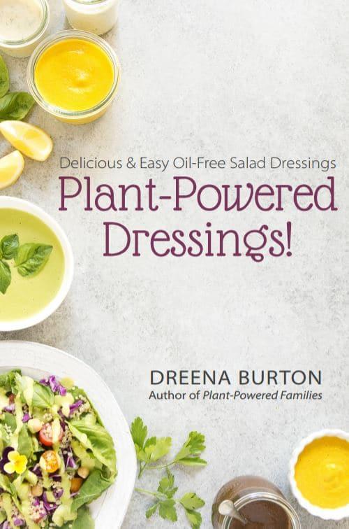 Oil-Free Plant-Powered Salad Dressings! | vegan salad dressing recipes | oil-free salad dressing recipes | healthy salad dressing recipes | gluten-free salad dressing recipes | nut-free salad dressing recipes | vegan cookbooks || Plant Powered Kitchen #vegan