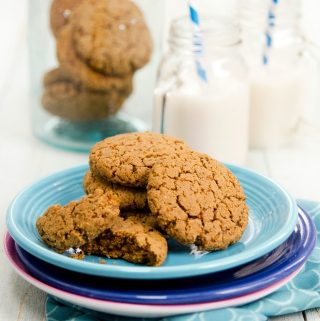 PBC Cookies: vegan peanut butter cookies