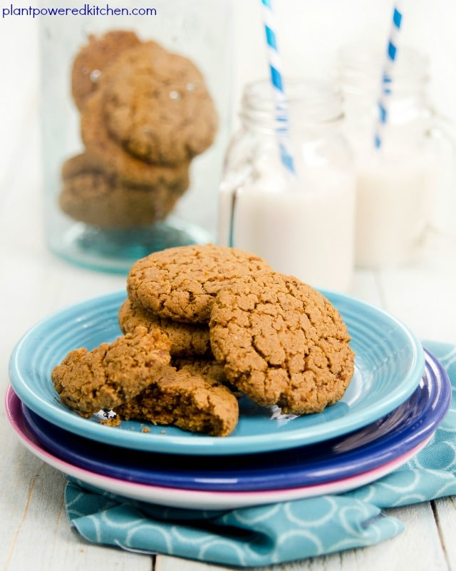 PBC Cookies: Vegan Peanut Butter Cookies (with Chickpeas