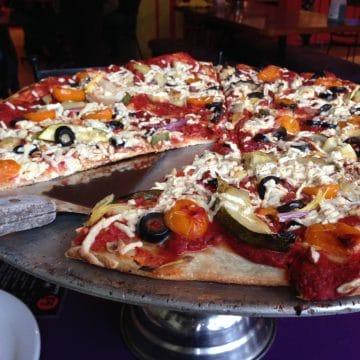 Pizza from Pi Restaurant