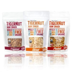 Tiger Nut Snacks by Organic Gemini
