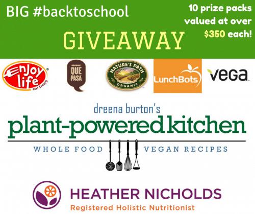 BIG #backtoschool giveaway!