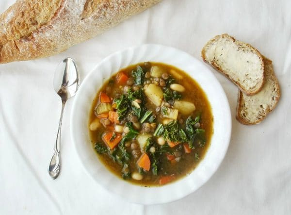 Best Vegan Soup Recipes: Beans 'n Greens Soup