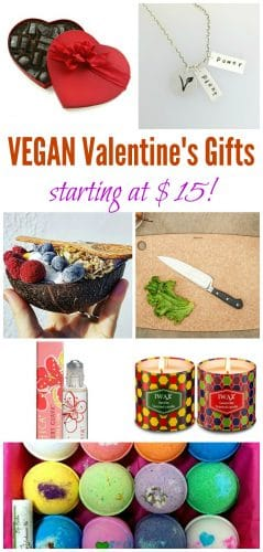 VEGAN Valentine's Day Gifts: Ideas starting at $15! #vegan #valentines #valentinesday #plantbased #gifts