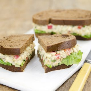 Chickpea Salad (vegan, gluten-free, nut-free, oil-free)