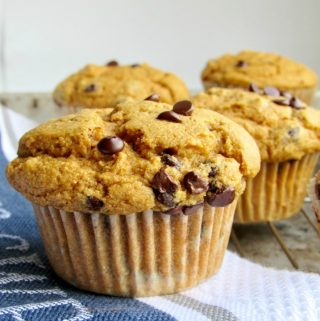 Sweet Potato Muffins (vegan, whole-grain, oil-free, nut-free)