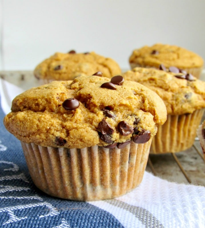 sweet potato muffins with dairy-free chocolate chips