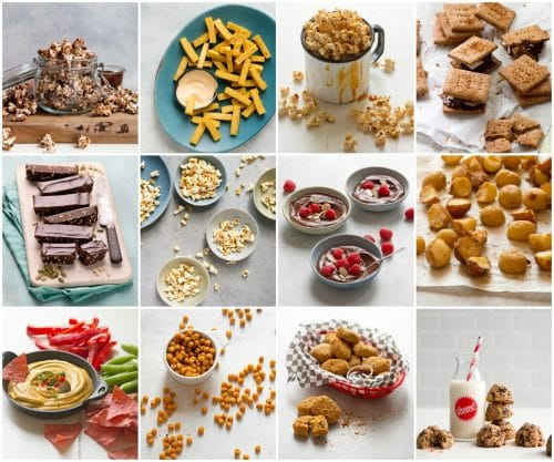 oil-free vegan snacks