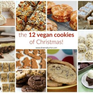 The 12 Cookies of Christmas: Vegan Christmas Cookies (with dietary options)