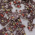 vegan chocolate bark