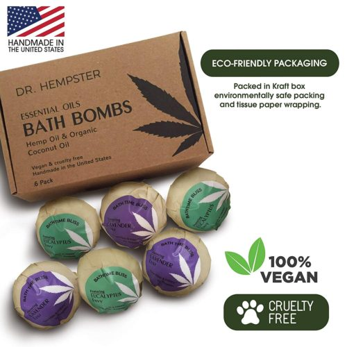 vegan gift guide: bath bombs
