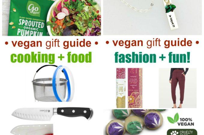 vegan gift guide